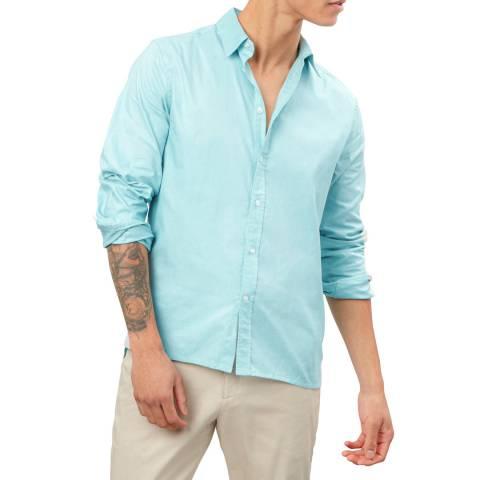 Richard James Blue Cotton Shirt