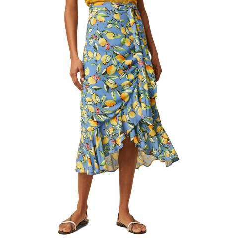 Great Plains Multi Drop Hem Printed Skirt