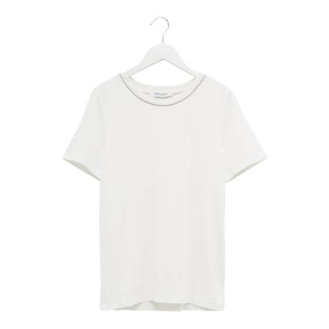 Great Plains White Short Sleeve T-Shirt