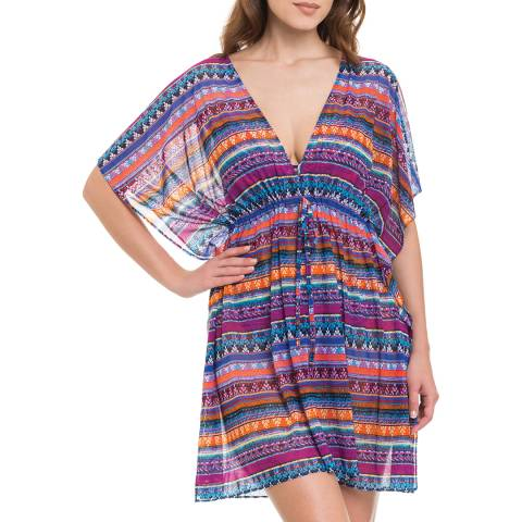 Profile By Gottex Multi Tapestry Tunic