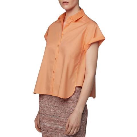 BOSS Bright Orange Bixina Blouse