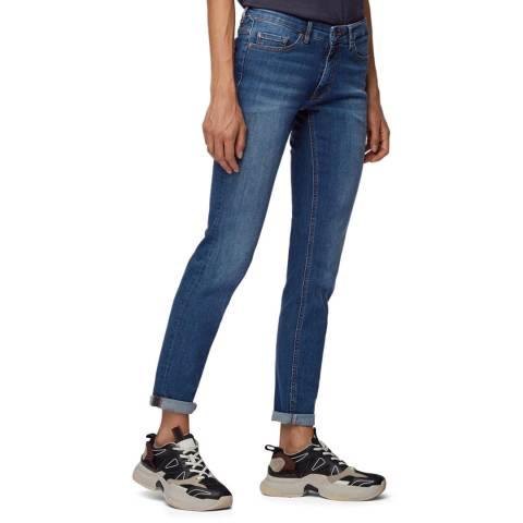 BOSS Navy J20 Stretch Jeans