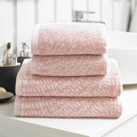 Deyongs Cannes Bath Sheet, Pink