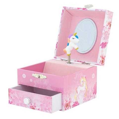 Ulysse Musical Box Unicorn Flowers