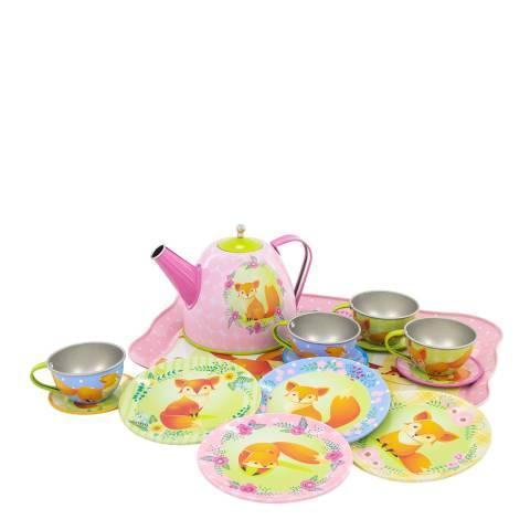Ulysse Fox Tin Tea Set