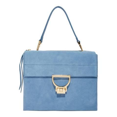 Coccinelle Denim Arlettis Suede Handbag