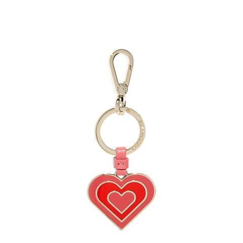 Coccinelle Bouganville Heart Keyring