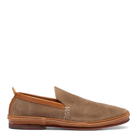 Oliver Sweeney Stone Anglesey Suede Espadrille