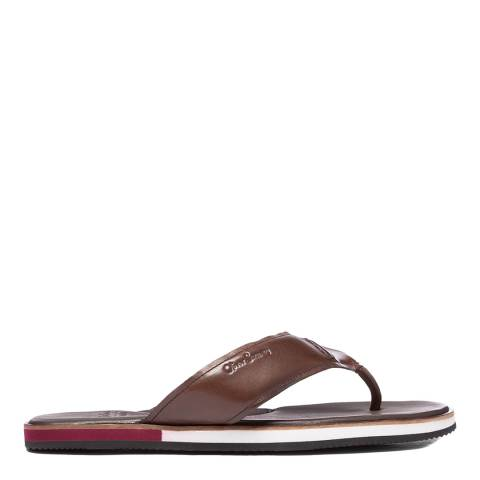 Oliver Sweeney Mahogany Wight Leather Sandals