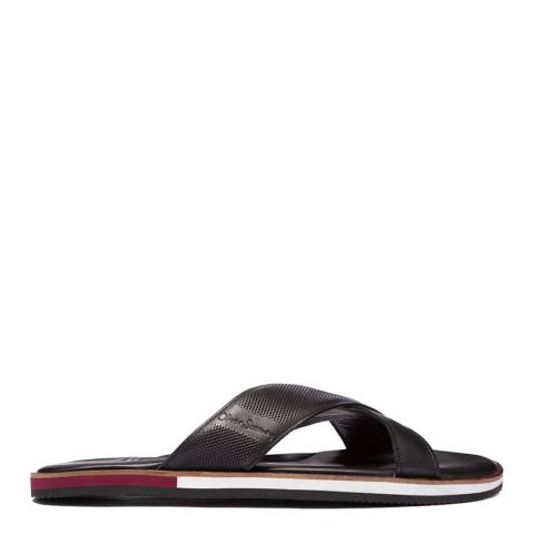 Oliver Sweeney Black Yell Leather Sandals