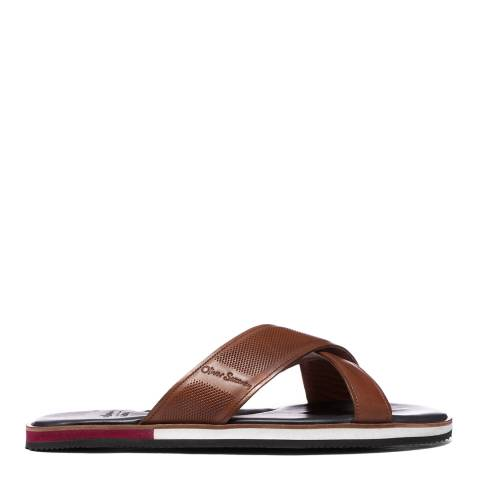 Oliver Sweeney Tan Yell Leather Sandals