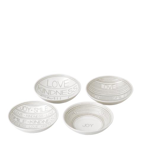 Royal Doulton Set of 4 Ellen Degeneres Accents Bowls, 14cm