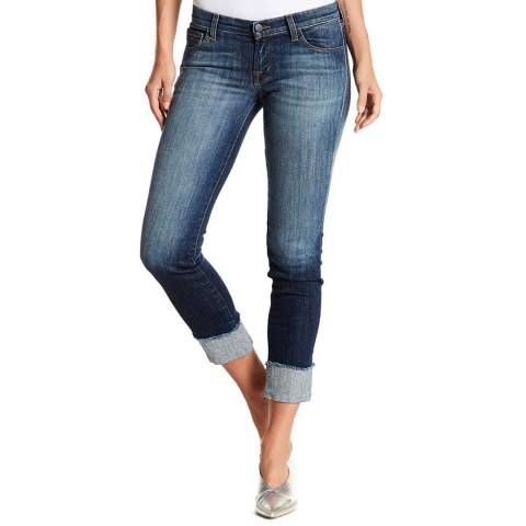 J Brand Blue Hipster Low Rise Jeans