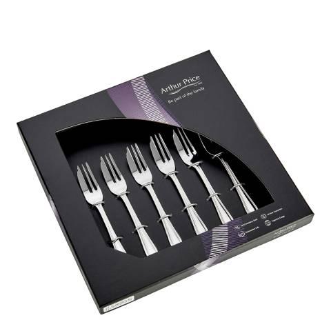 Arthur Price  Set of 6 Britannia Pastry Forks