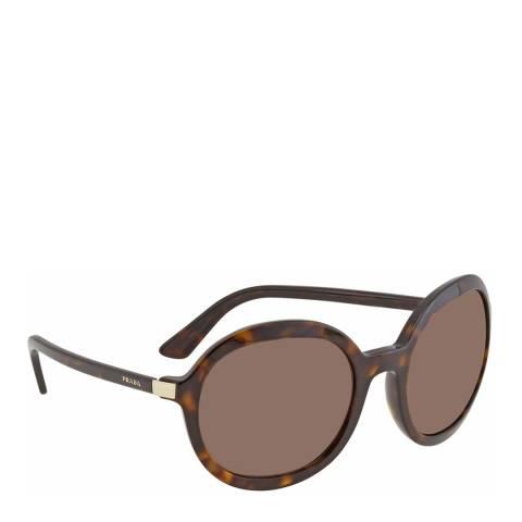 Prada Women's Brown Prada Sunglasses 56mm
