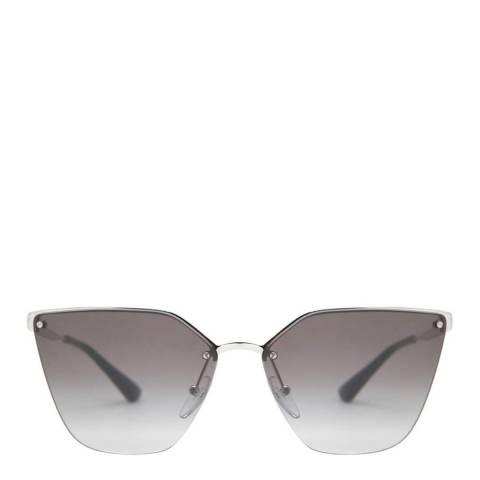 Prada Women's Silver Prada Sunglasses 63mm