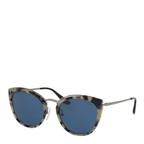 Prada Women's Blue/Grey Prada Sunglasses 54mm
