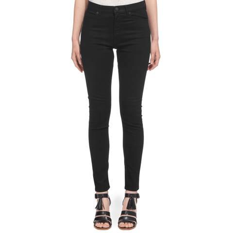 WHISTLES Black Black Skinny Jeans