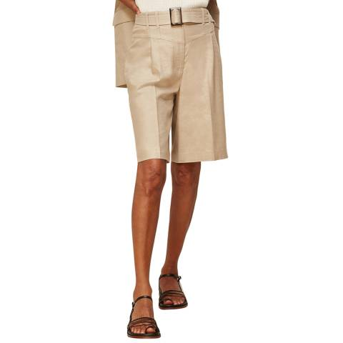 WHISTLES Neutral Horn Buckle Board Shorts