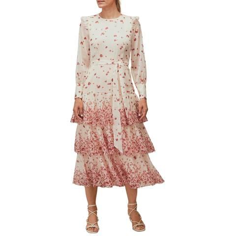 WHISTLES Multi Eastern Blossom Dress