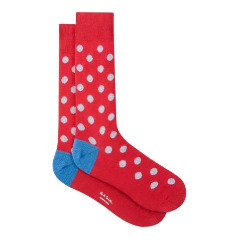 PAUL SMITH Red Spot Socks