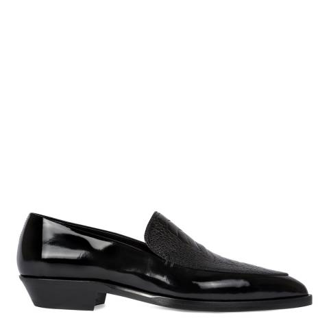 PAUL SMITH Black Patent Point Toe Shoes