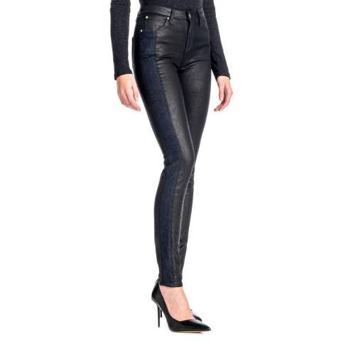 Lee Jeans Black Scarlett Rinse Skinny Jeans