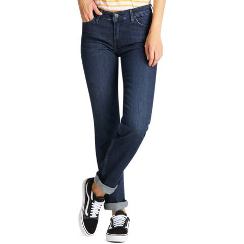 Lee Jeans Dark Indigo Marion Straight Leg Jeans