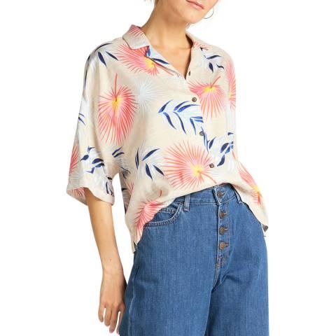 Lee Jeans Multi Floral Short Sleeve Shirt