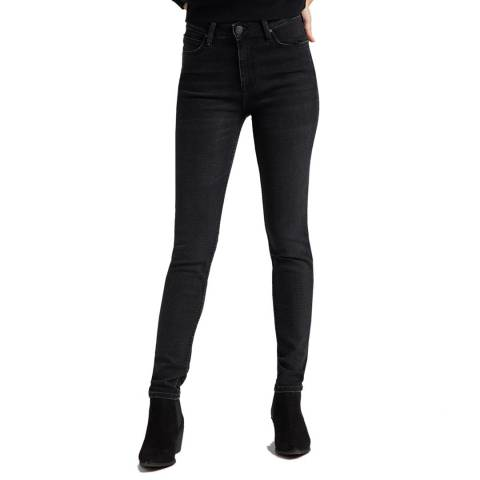Lee Jeans Black Scarlett Cotton Blend Skinny Jeans