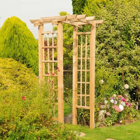 Forest Garden Ryeford Arch