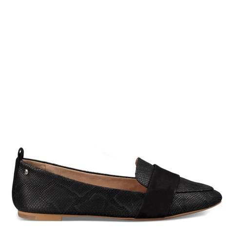 UGG Black Jonette Snake Shoes