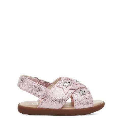 UGG Toddler Pink Allairey Stars Sandals