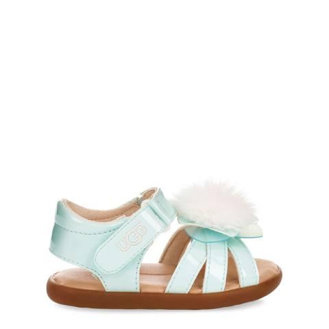 UGG Toddler Light Blue Cactus Flower Sandals