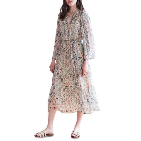 Velvet By Graham and Spencer Multi Aztec Printed Dress