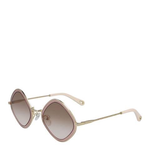 Chloe Women's Gold/Rose Chloe Sunglasses 55mm