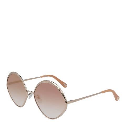 Chloe Women's Rose Gold Chloe Sunglasses 60mm