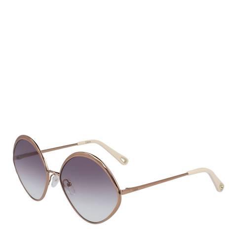 Chloe Women's Peach Chloe Sunglasses 60mm