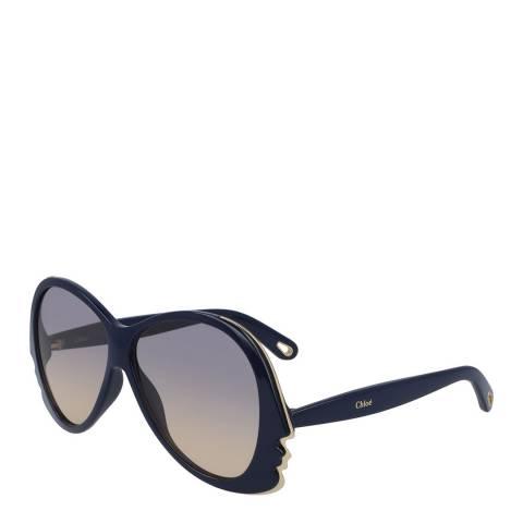 Chloe Women's Blue Chloe Sunglasses 59mm