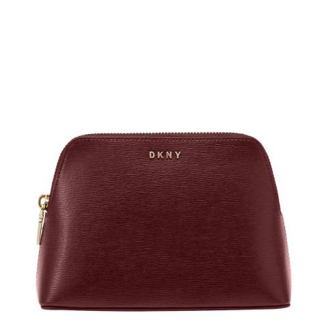 DKNY Aged Wine Bryant Sutton Cosmetic Case
