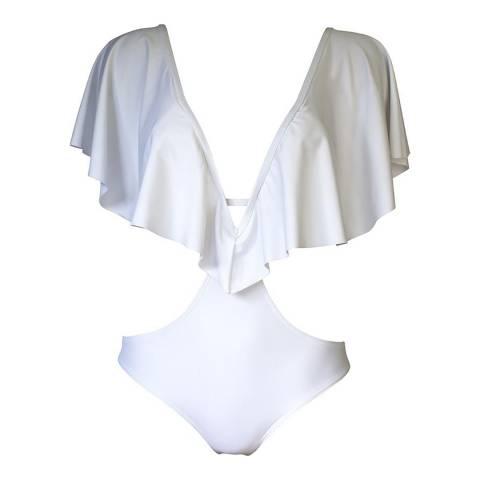 West Seventy Nine White Sky Chaser Swimsuit