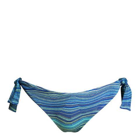 West Seventy Nine Blue Wave Wavemaker Bikini Brief