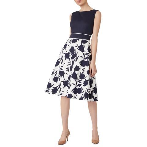 Hobbs London Midnight Una Floral Dress