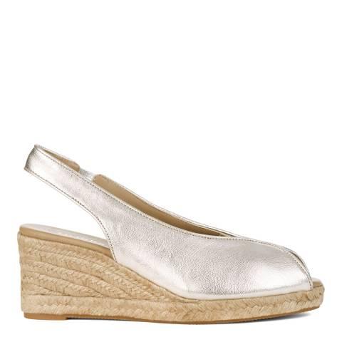 Hobbs London Metallic Katy Wedge Sandals