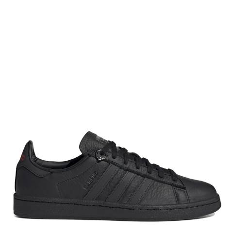adidas by 032c Black 032c Campus Leather Sneakers