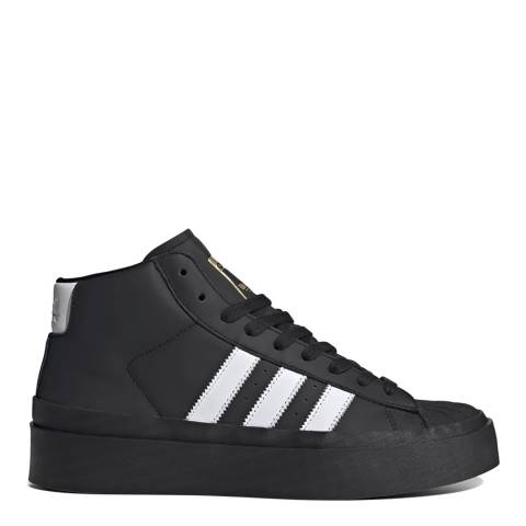 adidas x 424 Black 424 Pro Model Mid Leather Sneakers