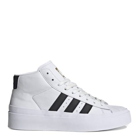 adidas x 424 White 424 Pro Model Mid Leather Sneakers