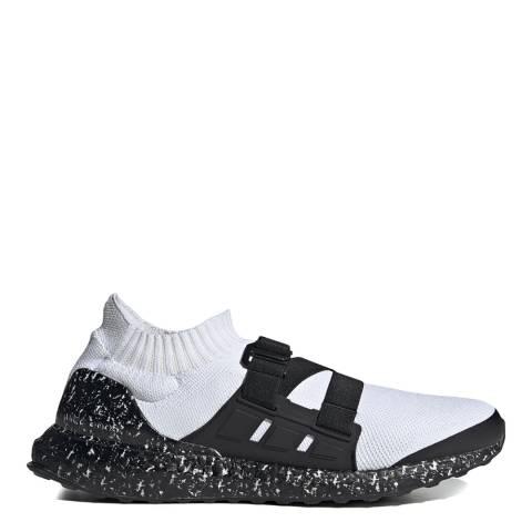 adidas x HYKE White/Black Hyke Ultraboost Strap Sneakers