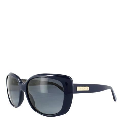 Jimmy Choo Women's Blue Sunglasses 56mm