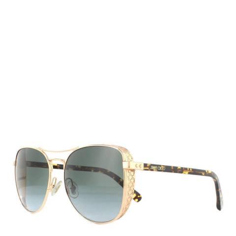 Jimmy Choo Women's Gold Sunglasses 58mm